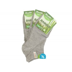 Pánske bambusové členkové ponožky ZHM7000D - 3 páry - Ellasun