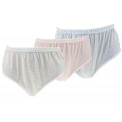 Dámske klasické bavlnené nohavičky 8311 - 1 ks - Pesail