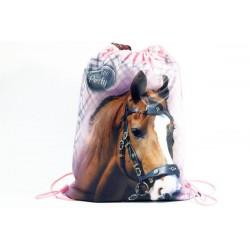 Taška na telocvik a prezuvky - Nice and Pretty - kôň