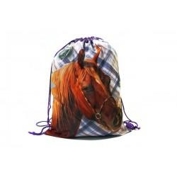 Taška na telocvik a prezuvky - Nice and Pretty - kôň - BENIAMIN