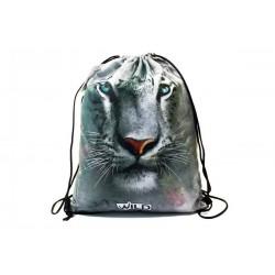 Taška na telocvik a prezuvky - Biely Tiger - BENIAMIN