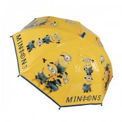 Detský dáždnik - Mimoni - žltý