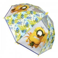 Priehľadný dáždnik - Mimoni Bananas