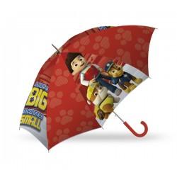 Dáždnik - Tlapková Patrola - červený