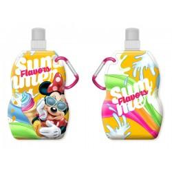 Fľaša na pitie s karabínou - Minnie so zmrzlinou - 330 ml