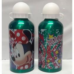 Alumíniová fľaša na pitie - Minnie - zelená - 500 ml
