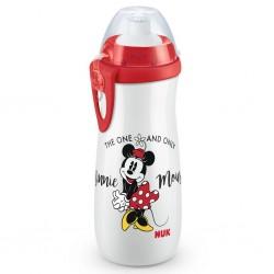 Detská fľaša na pitie - Disney Mickey - 450 ml - červená
