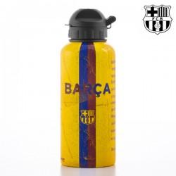 Alumíniová fľaša na pitie - FC Barcelona sa slovami hymny - 500 ml