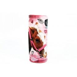 Guľatý peračník - Nice and Pretty - kôň - ružový