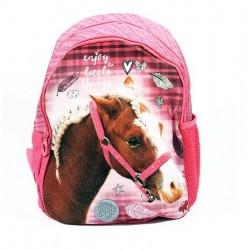 Detský batôžtek - Nice and Pretty - ružový koník