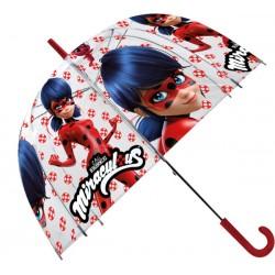 Priehľadný detský dáždnik - Čarovná lienka