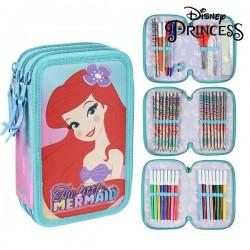 Trojposchodový peračník s vybavením - Princesses Disney 78698