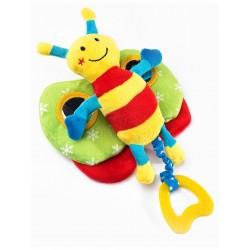 Náučná plyšová hračka - motýlik s pískatkom - Sensillo