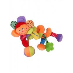 Detská špirálová hračka na postieľku - špirála - kvetinka - Baby Mix