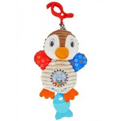 Detská plyšová hračka s vibráciou - tučniak - Baby Mix