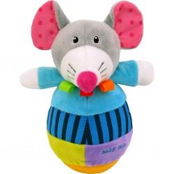 Detská kývacia hračka - myš - Baby Mix