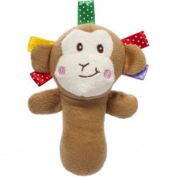 Detská plyšová hračka s pískatkom - opica - Akuku