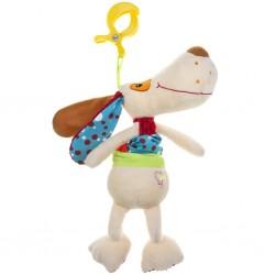 Detská plyšová hračka s hracím strojčekom - psík - Akuku
