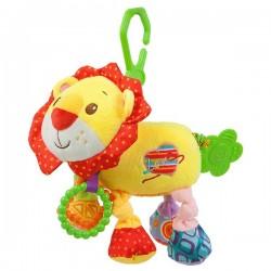 Detská plyšová hračka s vibráciami - lev - Nenikos
