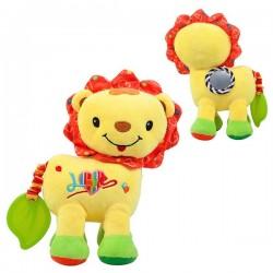 Mäkká hračka pre deti - lev žltý - Nenikos