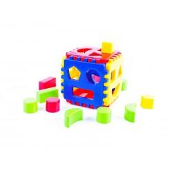 Vkládacia kocka pre malé deti