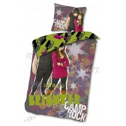 Detská obliečka - Camp Rock - fialová - 140x200