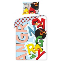 Detská obliečka - Angry Birds - písmená - 140x200