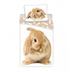 Detská obliečka - Hnedý králiček - 140x200