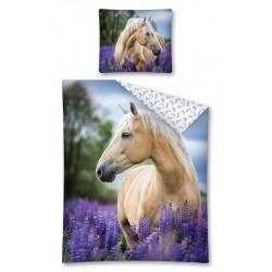 Detská obliečka - Kôň v levanduli - 140x200
