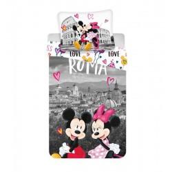 Detská obliečka - Mickey a Minnie v Ríme - 140x200