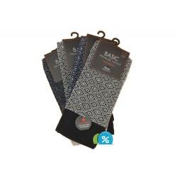 Pánske klasické bavlnené ponožky Basic 97770-M - 4 páry