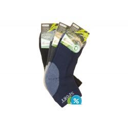 Pánske bambusové členkové termo ponožky Pesail BM3541 - 3 páry