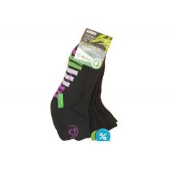 Dámske bambusové členkové termo ponožky Pesail BW4551 - 3 páry