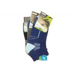 Dámske bambusové členkové termo ponožky Pesail BW4554 - 3 páry