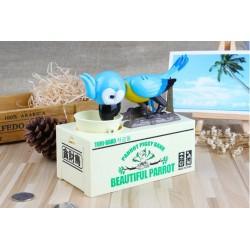 Pokladnička na mince - Hladný papagáj