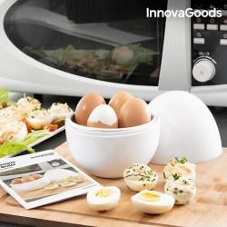 Varič na vajíčka do mikrovlnnej rúry s receptami - InnovaGoods
