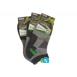 Dámske bambusové členkové termo ponožky Pesail BW4559 - 3 páry