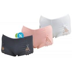 Dámske bavlnené francúzske nohavičky Rita C-384 - 1 ks
