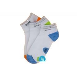 Dámske bavlnené členkové ponožky Pesail LW087 - 3 páry