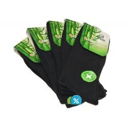Pánske klasické zdravotné bambusové ponožky A3-13 - 5 párov - AMZF