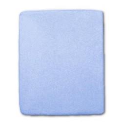Froté prestieradlo do postieľky - modré - 60 x 120 cm - New Baby