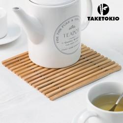 Ohybná bambusová podložka pod hrniec - TakeTokio