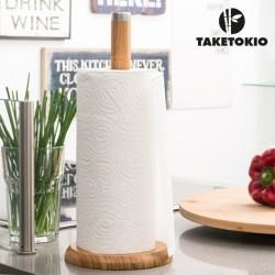 Bambusový držiak na kuchynské utierky - TakeTokio