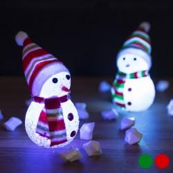 Vianočný LED snehuliak