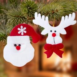 Sada vianočných dekorácií - 2 ks