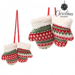 Vianočná pančucha - dvojaké rukavice - 10 cm