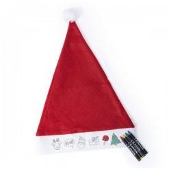 Vianočná čiapka - s obrázkami