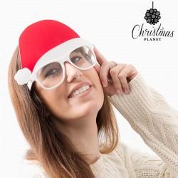 Vianočné okulire s čiapkou Santa Clausa