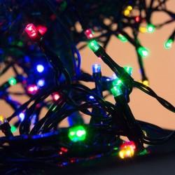 Vianočné osvetlenie - farebné vonkajšie 11m - 400 LED