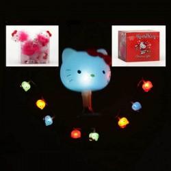 Vianočné osvetlenie - Hello Kitty - farebné - 2m